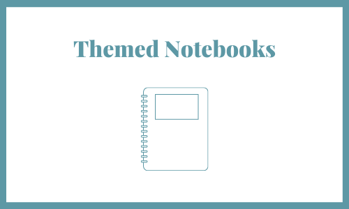Themed notebooks