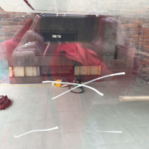 SCRATCH ON GLASS REPAIR AFTER 1