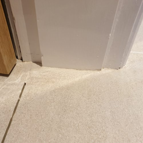 POORLY FITTED TILE REPAIR AFTER MANCHESTER
