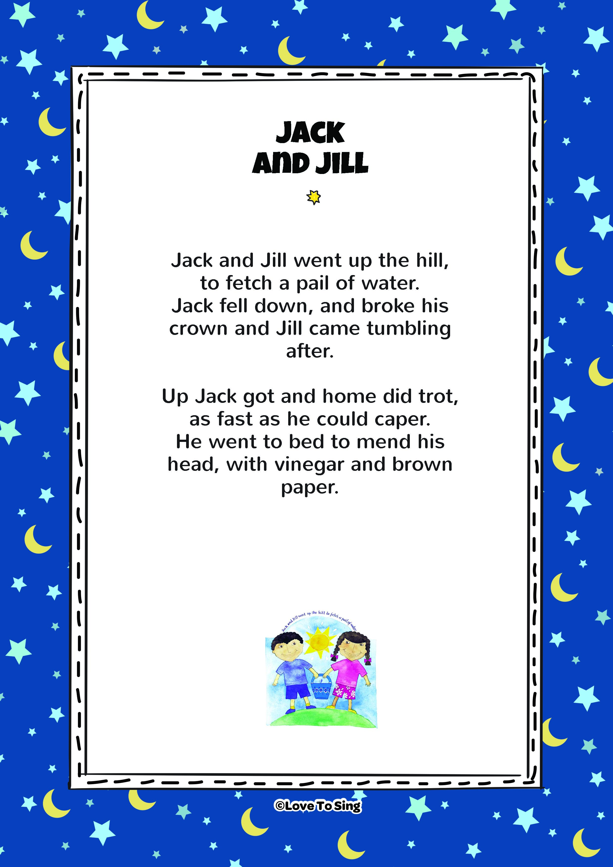 Jack And Jill Kids Video Song With