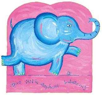 One Little Elephant Balancing