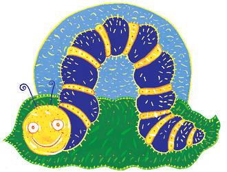 Fuzzy Wuzzy Caterpillar