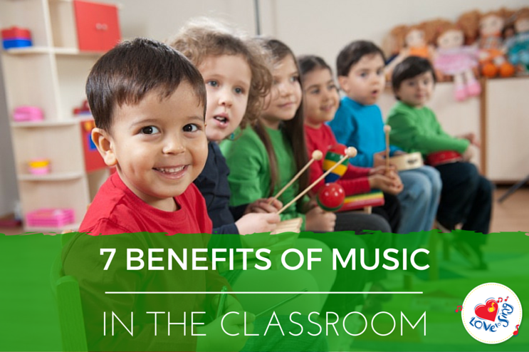 7 Benefits of Music in the Classroom