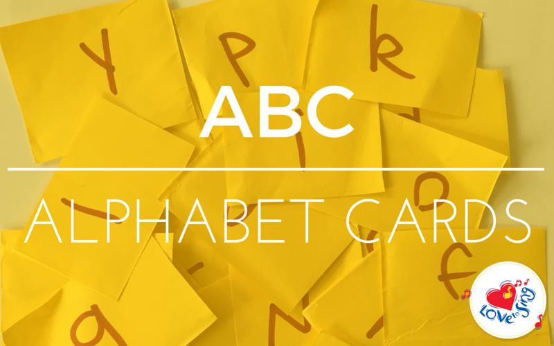 ABC Alphabet Cards