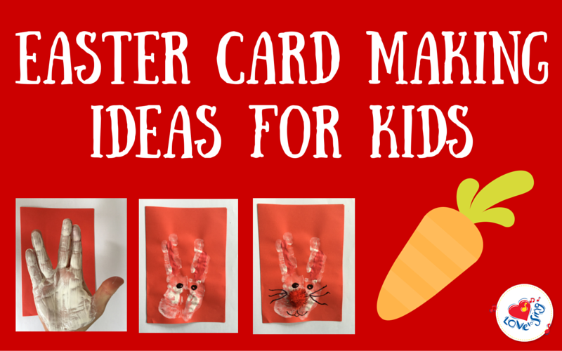 Easter Card Making Idea For Kids