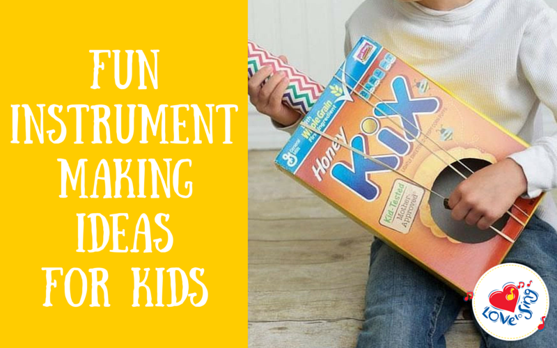 Fun Instrument Making Activity For Kids