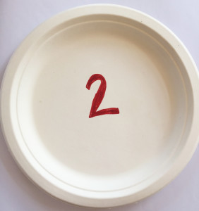 Skip counting plates step 1