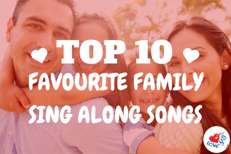 10 Favorite Family Sing Along Songs