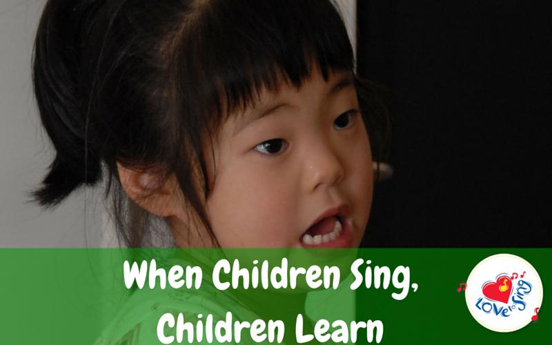 When Children Sing, Children Learn