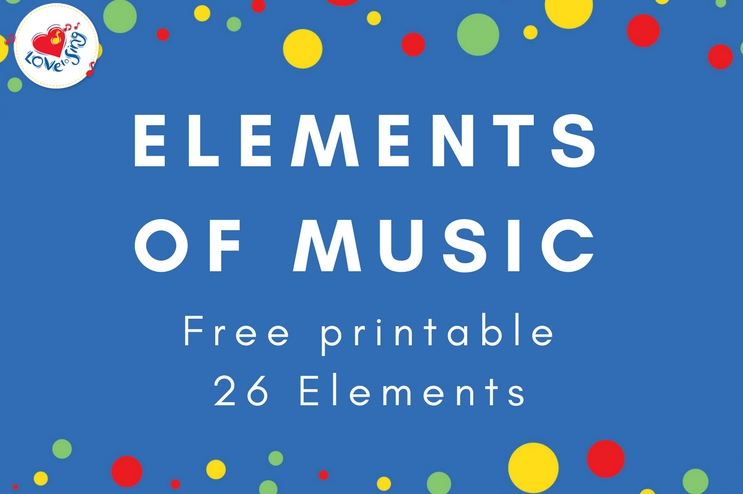 Elements of Music | Free Printable Posters