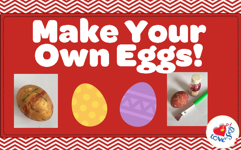 Make Your Own Easter Eggs