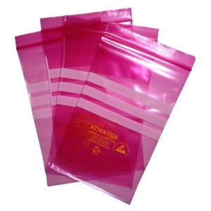 Pink Anti Static Bags