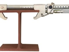 DBI SALA 2108414 Fixed beam anchor fits 6.3 to 60.9cm wide I-beams up to 3.8cm thick.