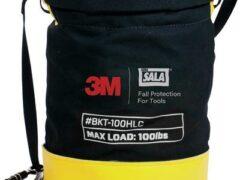 3M™ DBI-SALA® Safe Bucket 45.4 kg (100 lb.) Load Rated Hook and Loop Canvas 1500134