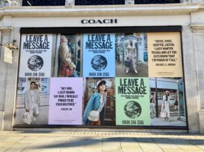 Coach - Temporary Window Vinyls