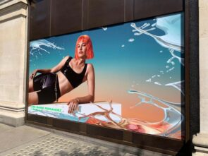Selfridges Window Wrap