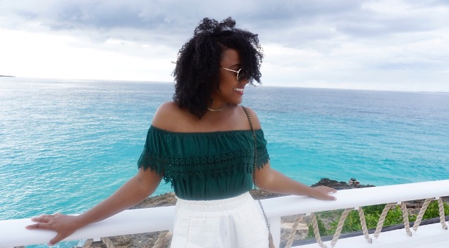 Outfit details for lunch at The Restaurant, Malliouhana, Anguilla