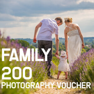 Family Photography gift voucher