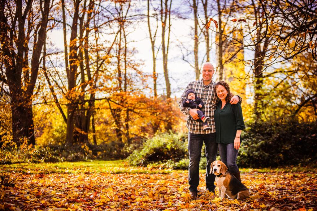 autumn family photoshoot