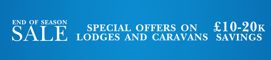 Special offers available on lodges and caravans at Webland Farm South Devon