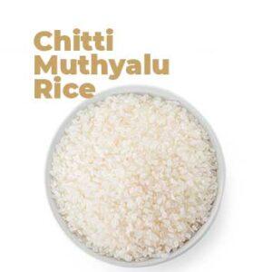 Organic Chittimuthyalu Rice