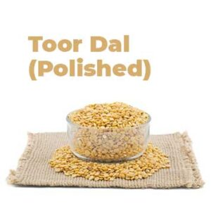 Organic Toor Dal Polished (Kandipappu)
