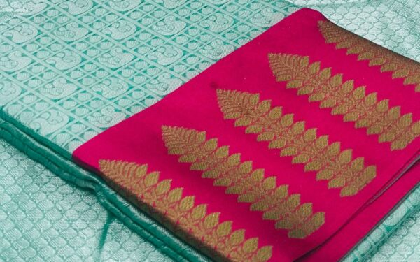 Weaving Kora Muslin Silk Sarees- Party Wear Collection