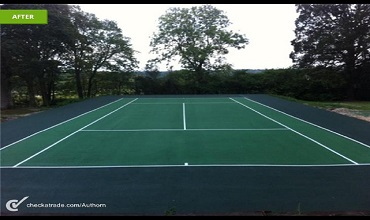 Tennis Court Services Page