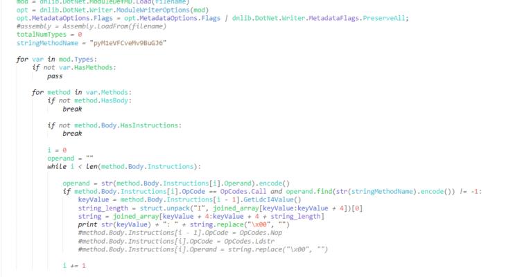 New TA402/MOLERATS Malware – Decrypting .NET Reactor Strings
