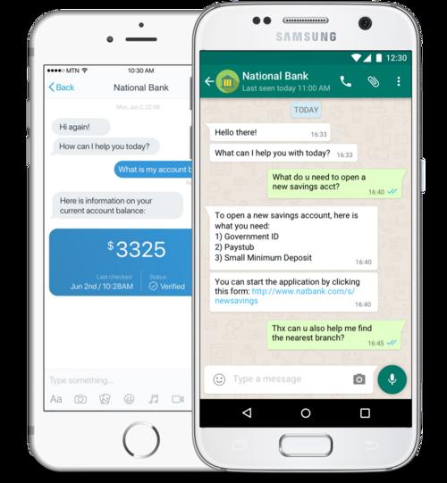 TellerBot(WhatsApp Banking)