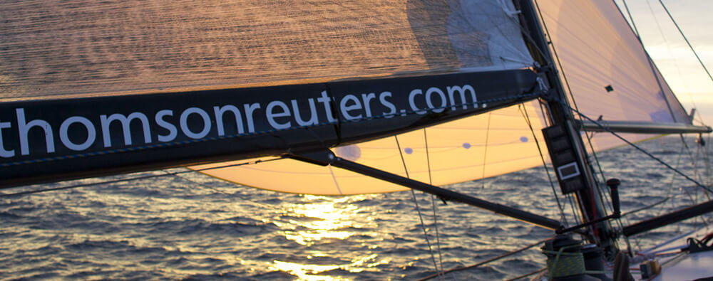 Thomson Reuters sailboat