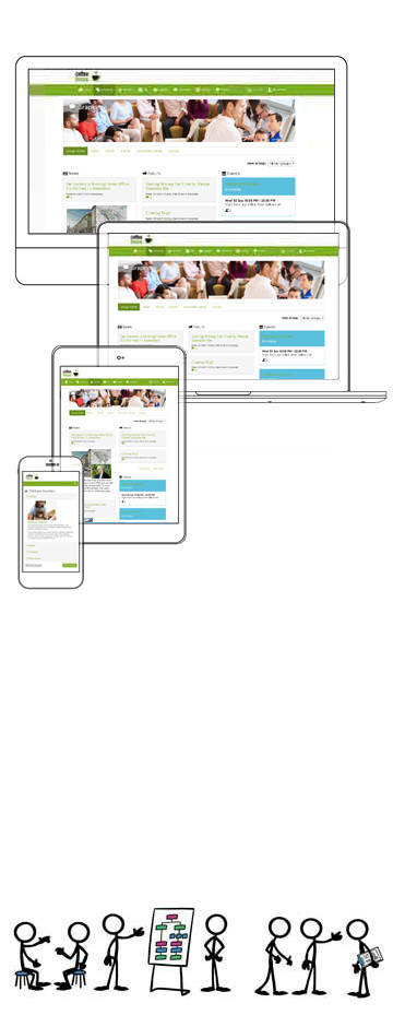 You At Work grapevine internal communication software
