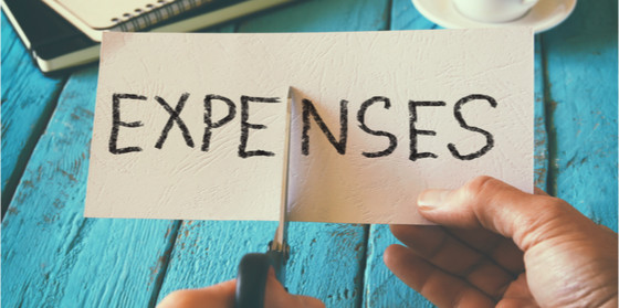 cut living expenses