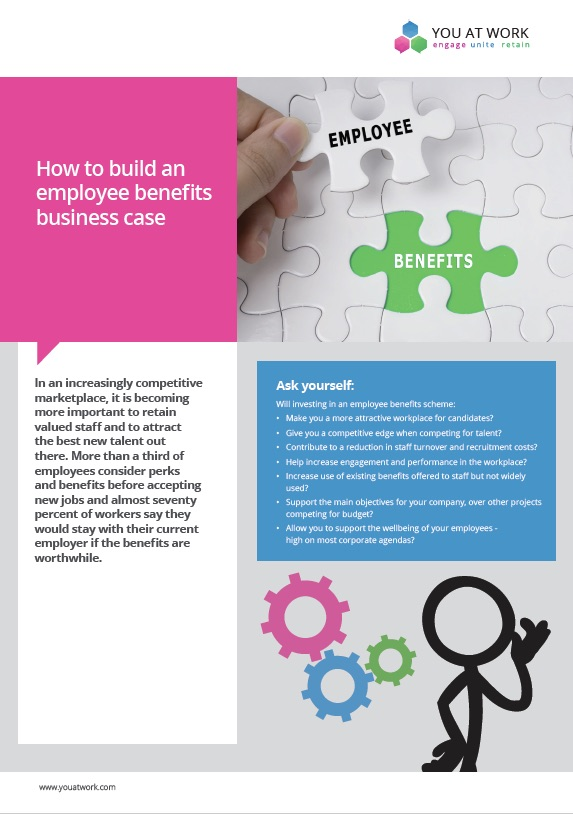 Building an employee benefit business case