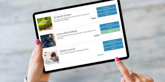 Our online benefit catalogue