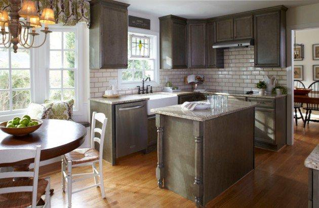 Interior design for a small kitchen