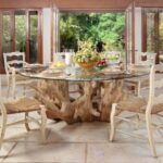 Rattan Chairs In Dining Room Design Ideas