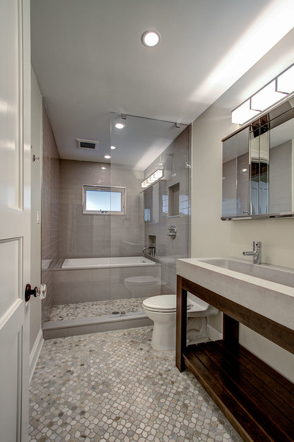 Stylish Narrow Bathroom Interior Designs For Small Houses