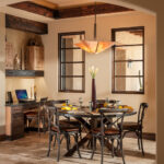 Southwestern Dining Room Interior Designs For Your Comfort