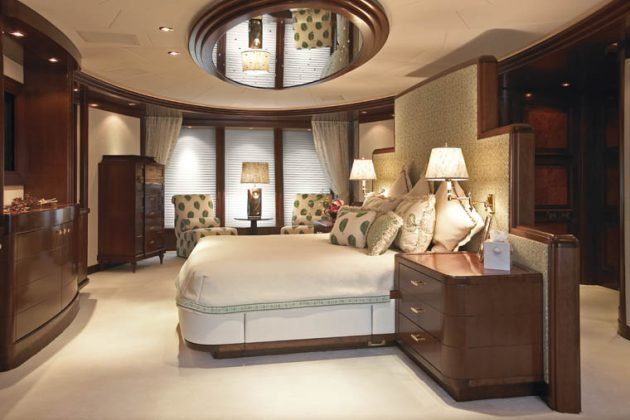 Ceiling Mirrors Over Bed