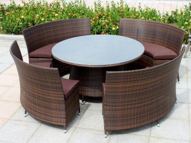 Round Furniture Ideas