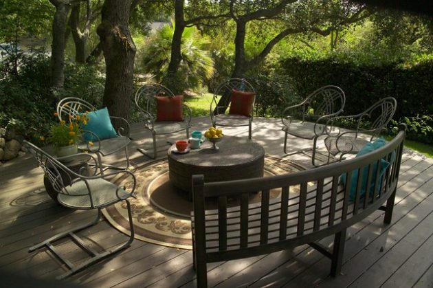 Round Furniture Ideas For Every Home Style 5