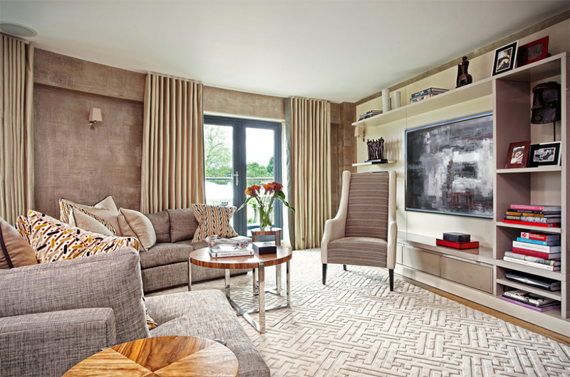 Adorable Carpeted Living Room Ideas