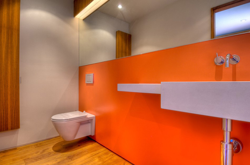 Contemporary Bathrooms With Wall-Mounted Toilets & Installation Process