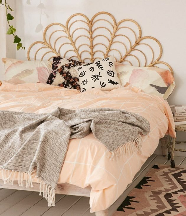 15 Amazing Rattan Bed Designs To Add Charm