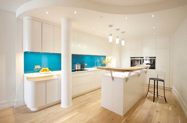 Glass Kitchen Cabinet Doors Pure Elegance