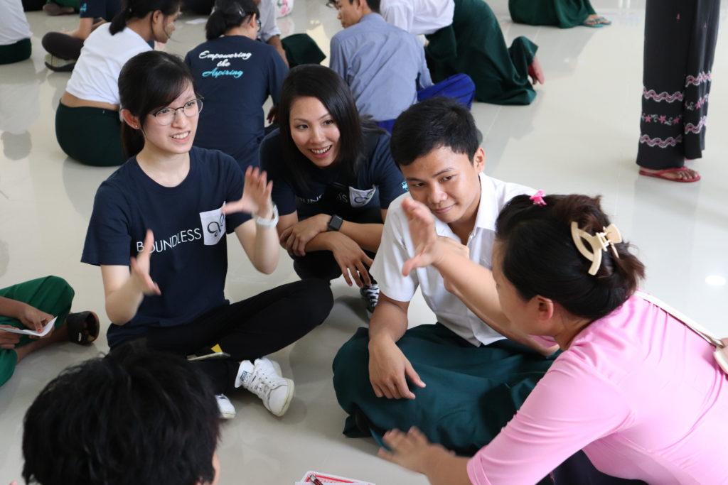 Service trip to myanmar