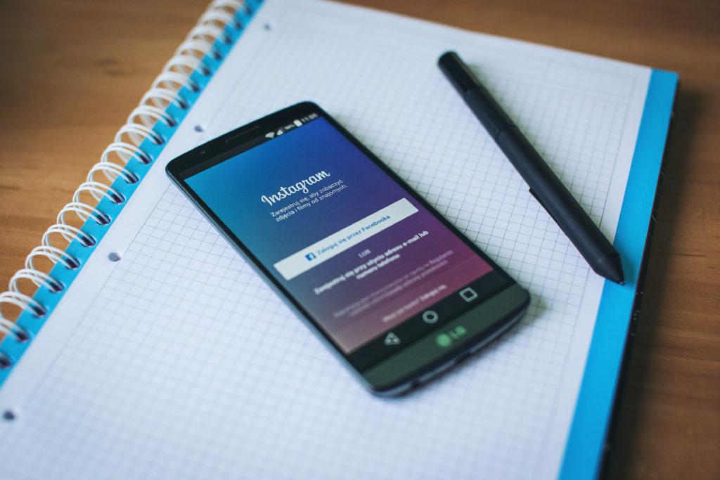 Statistics for social media marketing on Instagram