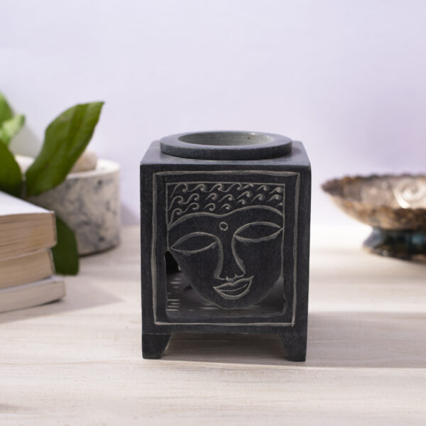 Buddah Face Oil Burner Environmentally Friendly Crafted