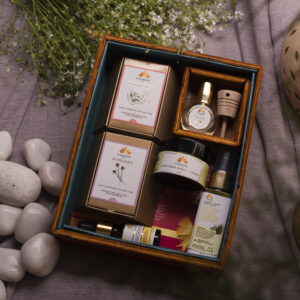 Luxury Ayurvedic Vegan Spa Gift Set for Women